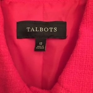Stunning Talbots Pink Lined All Season Coat 12
